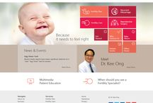 Obstetricians Websites / Shows examples of Obstetricians & Gynaecologists Websites