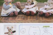 bambole pupazzi