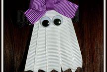 Hair clips ribbons designs
