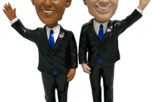 """Politicos / (formerly the home of the extremely popular """"Political Bobbleheads"""") / by scott woods"""