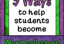 Vocabulary, Spelling, and Word Work / Great ideas for your literacy block...all ways to help your students learn about words!