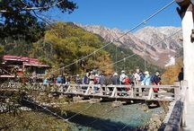 上高地(北アルプス)登山ハイキング観光 / 上高地の絶景ポイント 北アルプス登山ルートガイド。Japan Alps mountain climbing route guide