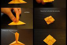 a Pikachu origami
