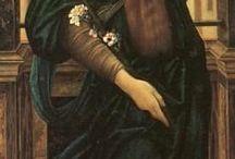 Art Préraphaélites (Edward Burne-Jones) / Art Peinture