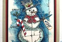 Christmas Cards Handmade - Ideas