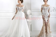 White bride dresses / #white #bride #dress