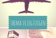 thema vliegen, vliegtuigen,etc.