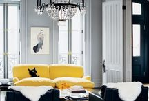 Grey & Yellow for the Home / by Stephanie McGuire