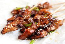 Asian Chicken Skewers Recipe