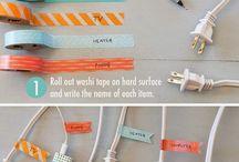 O que fazer com fita washi tape???