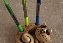 θήκη για τα στυλό γάτα