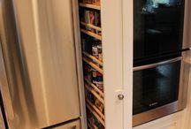 Kitchen Ideas and Storage