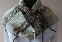 MadeSlowly   by hand and available on etsy / hand weaving using handspun yarn from my alpaca and local sheep.