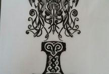 Viking art/patterns