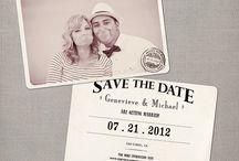 Wedding save date