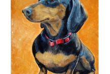 Dachshound art