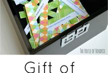 Gift Ideas / Gifts for all kinds of people / by Krista