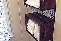 Storage ideas / by Stephanie Cheathem