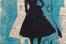 Pige på avis