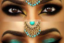 Arabische make-up
