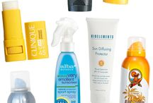 Don't forget the sunscreen! / Summer ideas, food, games, drinks,kids activities, gear