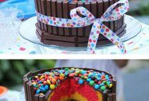 cakes m&m's