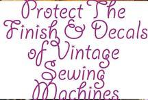 vintage symaskin