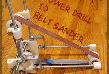 make belt sander