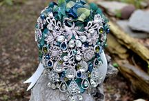 bouquet of brooches
