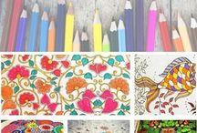 Pattern design / Disegni tessili per arredamento, abbigliamento bambina e donna.