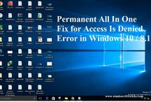 Permanent All In One Fix for Access Is Denied Error in Windows 10 / 8.1 / 7