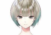 Short Hair Anime Girl
