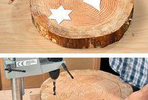 Holz Deko DIY