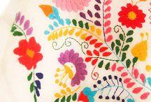 メキシコ刺繍 Mexican Embroidery