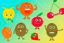Bimbi che odiano la frutta / Alcuni consigli per giocare con il tuo bambino e fargli scoprire i segreti della #frutta di #stagione.