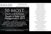 2014 50 Most Influential in Sales Lead Management / These are the 50 Most Influential people in sales lead management as determined by our 8000+ members around the globe.