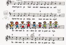 Liedjes kleuters