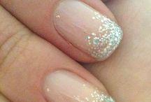 Wedding hair beauty nails