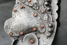 Metal smithing inspirations / Metal smithing ideas  / by Nadeya Khalil