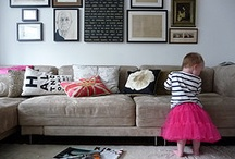 living room inspiration / by Courtney Russell