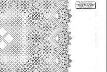 Kniple mønster / bobbin lace