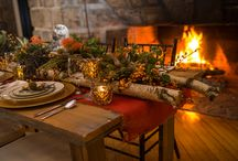 Winter Wedding Warmth / Love winter weddings! The snow, the icy splendor, the coziness of a romantic wedding by a roaring fire, comfort food dinner/reception bliss...
