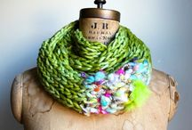 Hand spun projects