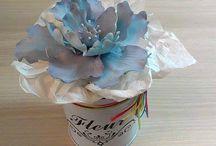 Just flowers | Virágok, virágos torták