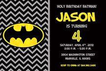 Fiestas De Cumpleaños Batman