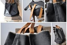 denim bag / farmertáska