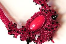 Moje šité šperky - My sewn jewelry / Originální šité šperky k prodeji - original stitched jewelry from beads