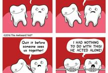 DENTAL HUMOUR. / Jokes and humour to see us into the weekend!