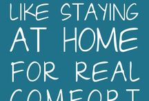 "Home Sweet Home / ""Home Sweet Home"" contains quotes about what makes a house a home. / by HardyandBrockTM"