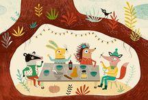 Animal House / Animal art and illustration